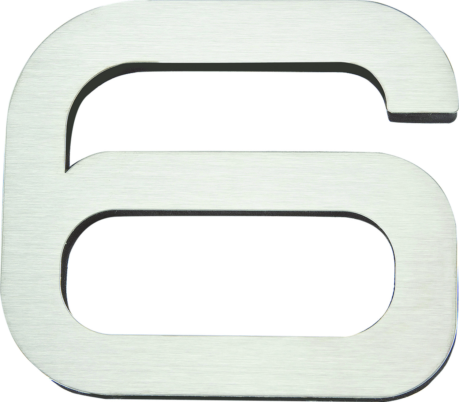 Modern House Numbers 6 Inch