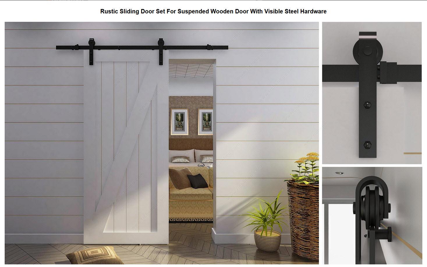 Rustic Barn Door Hardware